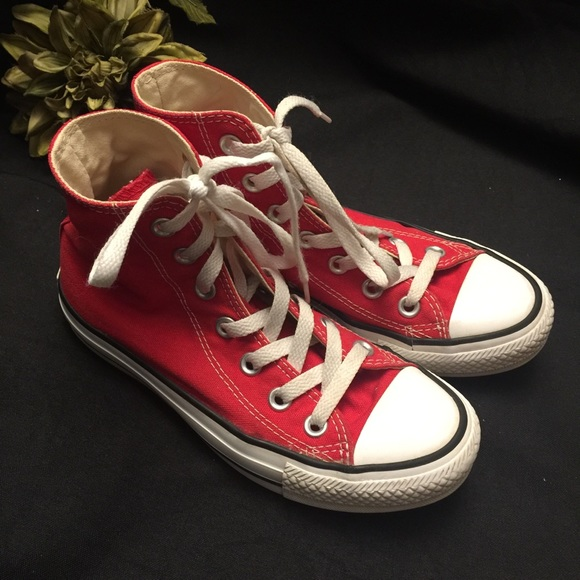 Converse Shoes | Red High Topwomens